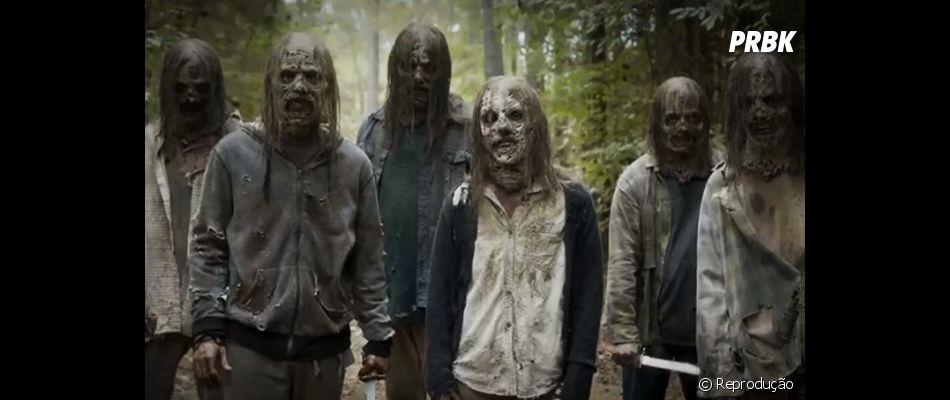 """Teaser da 10ª temporada de """"The Walking Dead"""" mostra Sussurradores prontos para atacar"""