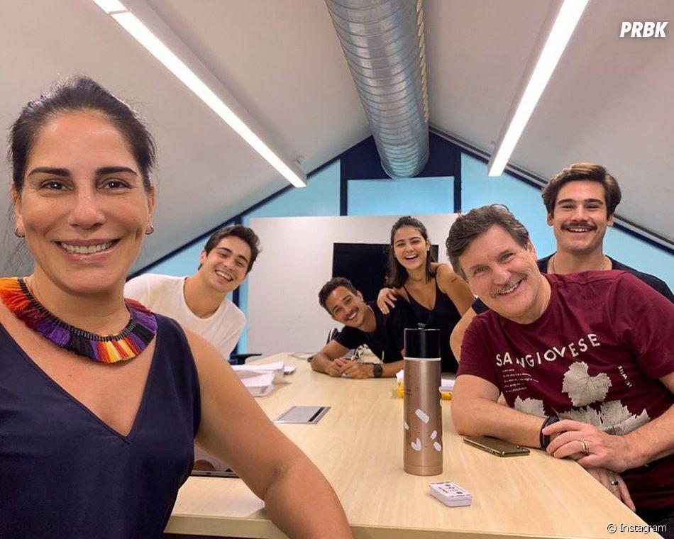 """""""Éramos Seis"""": elenco nos bastidores da novela"""