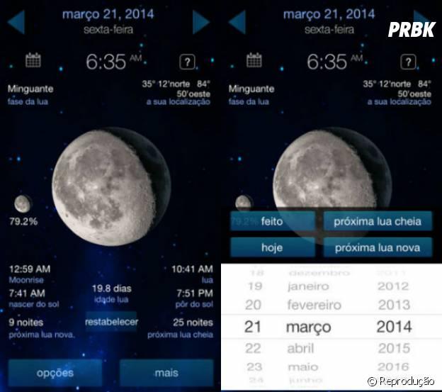 """Saiba se a lua vai estar cheia na semana com """"Fases da Lua"""""""