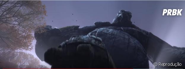 """""""Frozen 2"""": gigantes surgem no reino em novo trailer"""