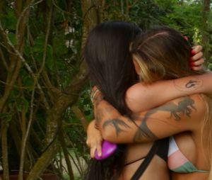 """""""De Férias com o Ex Brasil: Celebs"""": Any ficou bem emocionada com a chagada de Yá"""