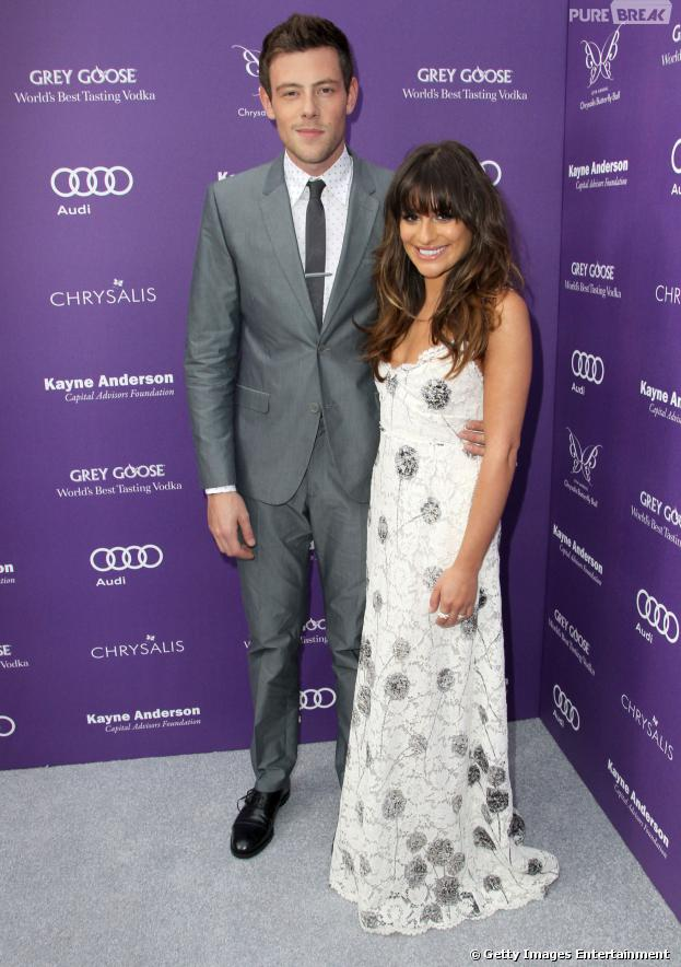 """A faixa """"You're Mine"""", escrita por Lea Michele, é dedicada a Cory Monteith"""