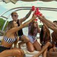"""""""De Férias com o Ex Brasil: Celebs"""": passeio no barco deixou o clima do reality mais leve"""