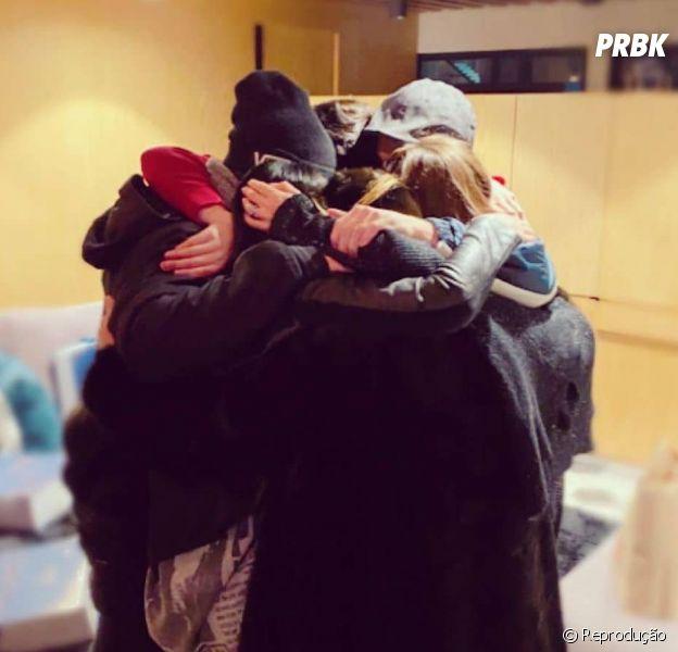 Foto do RBD reunido em 2019, onze anos após fim da banda