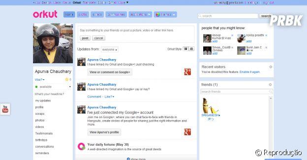 Orkut e mais sites que eram sucesso na internet e todo mundo usava