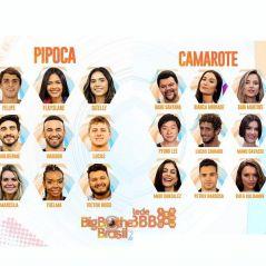 """Qual é seu grupo favorito no """"BBB20"""": Camarote ou Pipoca? Vote!"""