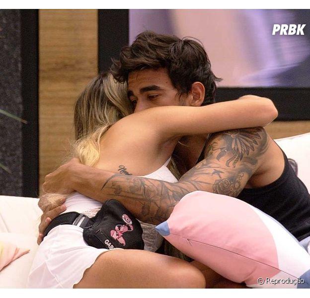 """""""BBB20"""": Guilherme se declara para Gabi e diz que está muito apaixonado"""