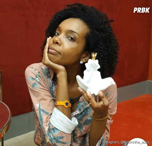 """""""BBB20"""": Gizelly chama maquiagem de Thelma de barro e gera polêmica na internet"""