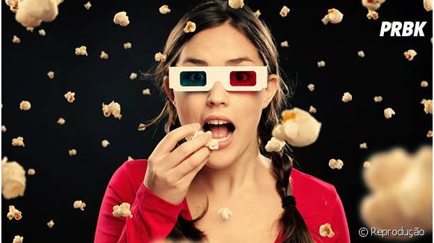 A boa de hoje é assistir um filme e relaxar