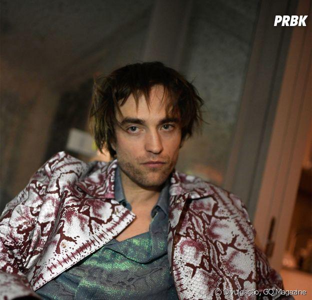 Robert Pattinson é capa da revista americana GQ