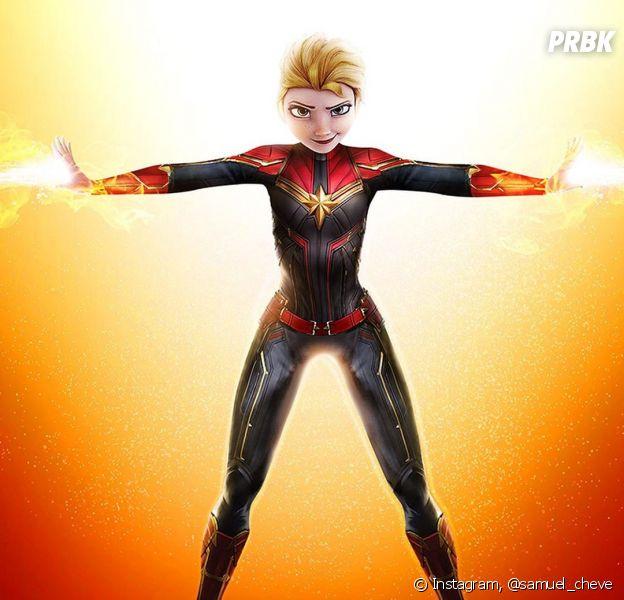 Artista transforma personagens da Disney em heróis da Marvel e DC Comics