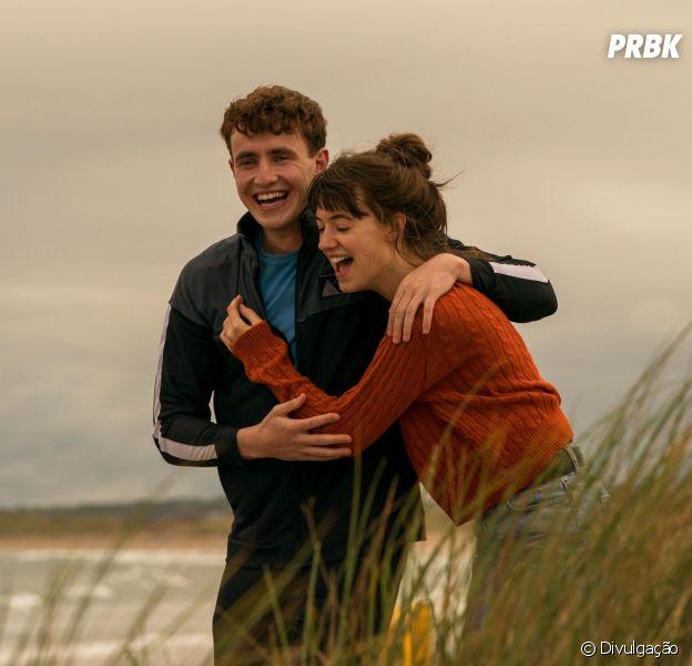 """Normal People"":Marianne Sheridan (Daisy Edgar-Jones) e Connell Waldron (Paul Mescal) são os protagonistas da série irlandesa super bem-sucedida"
