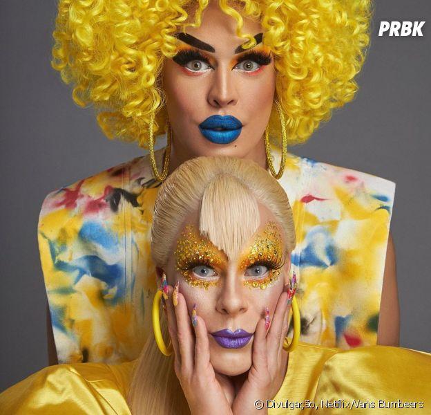 """""""Nasce Uma Rainha"""": Glória Groove e Alexia Twister vão ajudar drag queens que estão no começo da carreira"""
