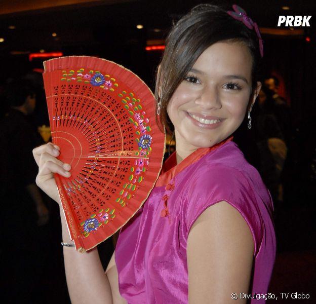 """Bruna Marquezine viveu a lutadora de Kung Fu Flor de Lys em """"Negócio da China"""""""