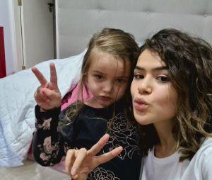 A Maisa está postando várias fotos com o novo cabelo e estamos amando!