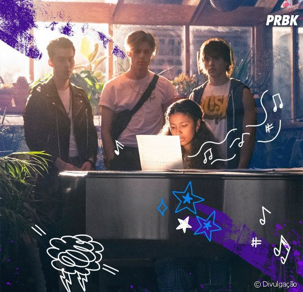 """Conheça o elenco de """"Julie and the Phantoms"""", nova série da Netflix do diretor de """"High School Musical"""""""