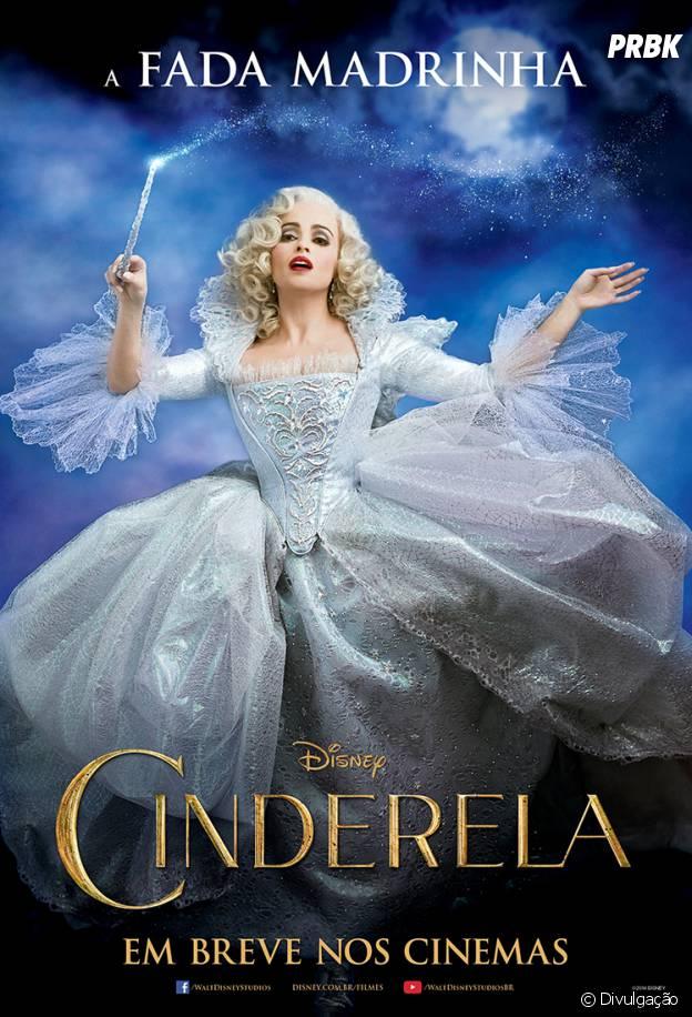 """Helena Bonham Carter vai interpretar a Fada Madrinha em """"Cinderela"""""""