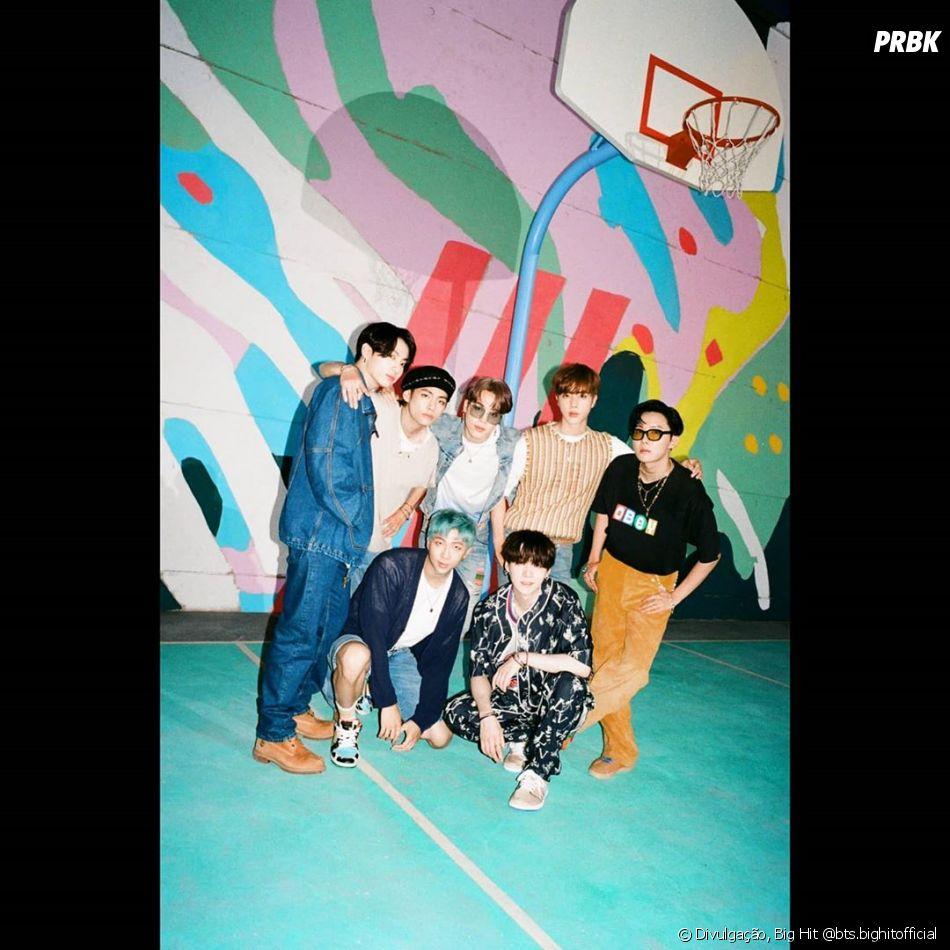 """BTS se apresentará no YouTube do """"Grammy"""", às 22h (Horário de Brasília), nesta quinta (3)"""