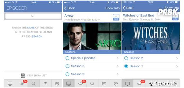 """Para assistir todas as temporadas das séries favoritas vale a pena usar o aplicativo """"Episoder"""""""