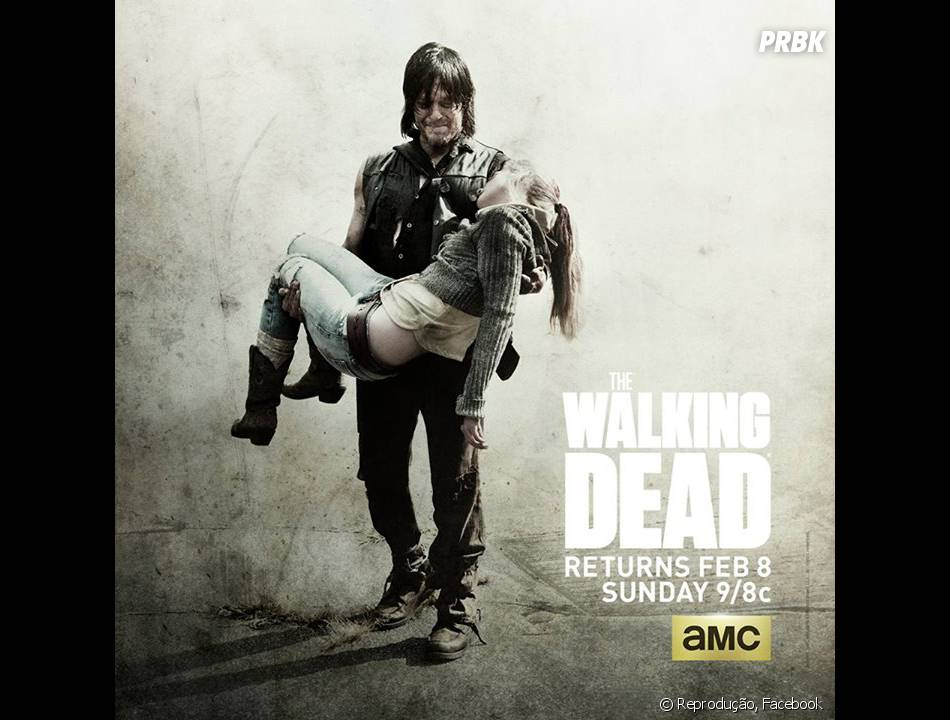 "Recentemente, ""The Walking Dead"", bateu recordes no mid-season finale da 5ª temporada!"