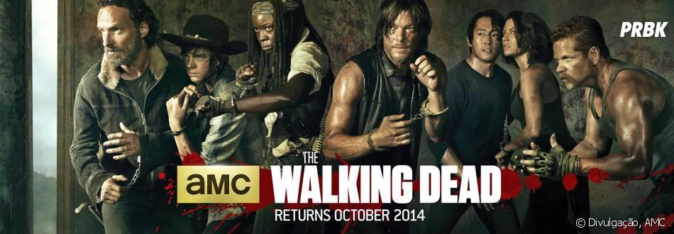 """A 5ª temporada de """"The Walking Dead"""" só aumenta mais o sucesso da série"""