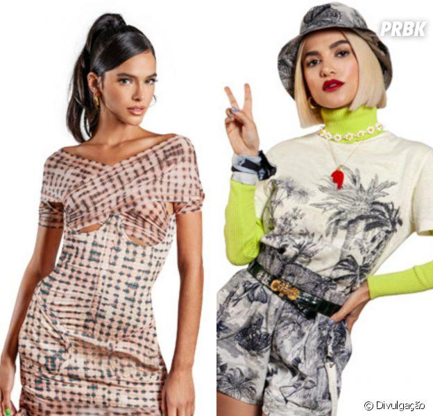 Bruna Marquezine e Manu Gavassi contam quais looks pegariam uma da outra para apresentar o MTV MIAW