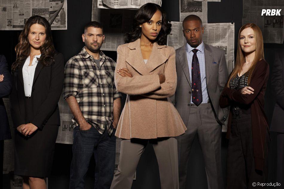 """""""Scandal""""foi criada, roteirizada e produzida por Shonda Rhimes"""