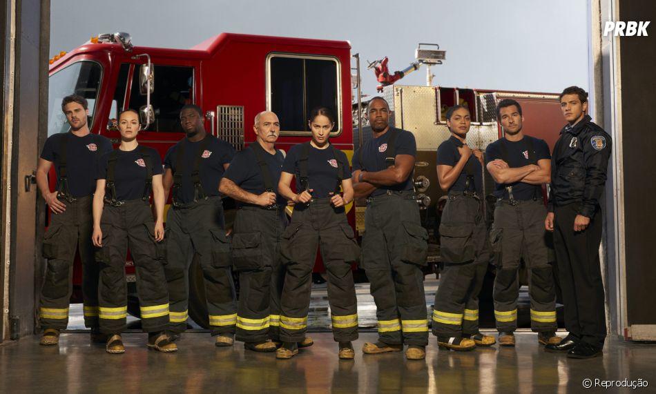 """""""Station 19"""" é outra série produzida por Shonda Rhimes"""