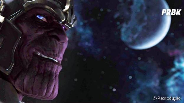 """Vilão Thanos apareceu pela primeira vez na cena pós-crédito de """"Os Vingadores"""""""