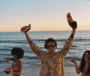 """Harry Styles e sua """"Watermelon Sugar"""" arrasaram nas paradas pelo mundo afora"""