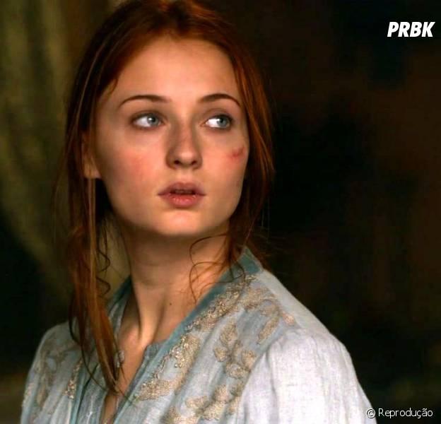"""Sophie Turner falou sobre cena polêmica de Sansa em """"Game of Thrones"""""""