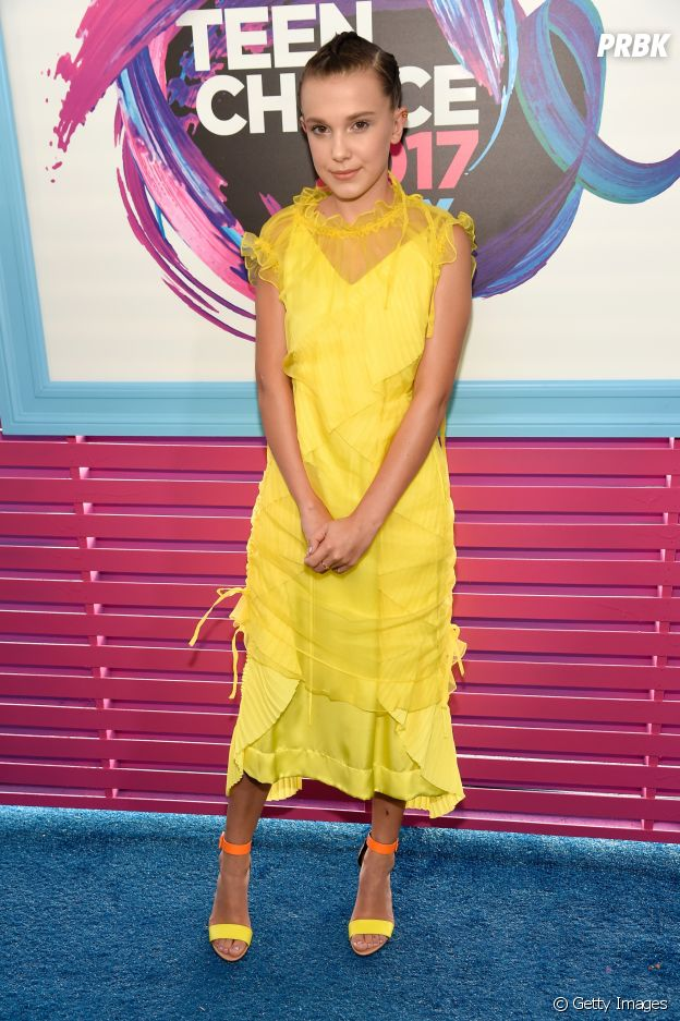 Millie Bobby Brown no Teen Choice Awards 2017
