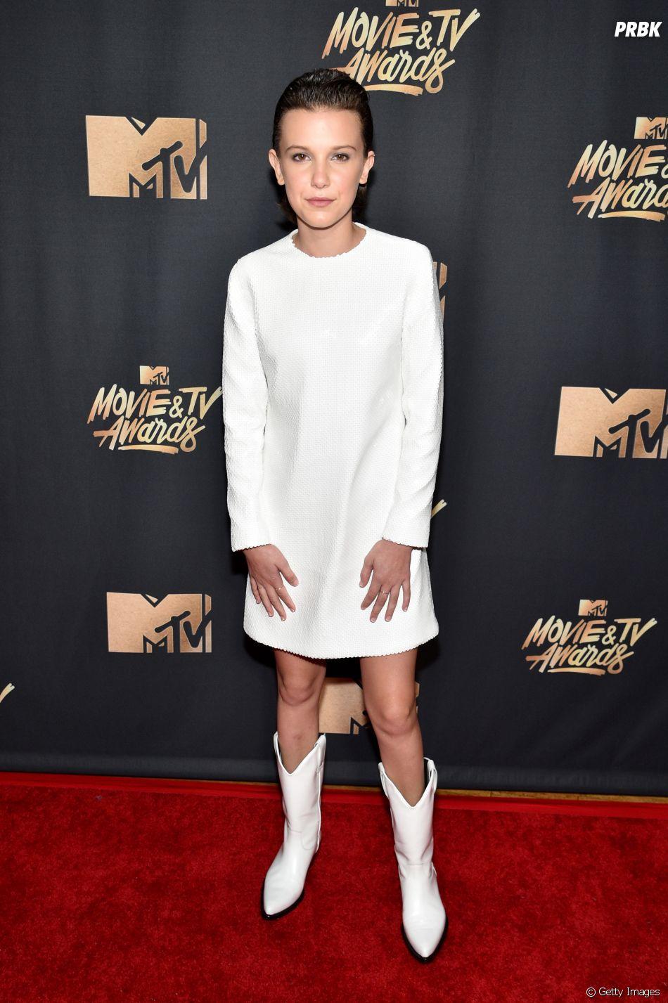 Millie Bobby Brown no MTV Movie And TV Awards 2017