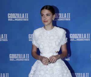 """Millie Bobby Brown na pré-estreia de """"Godzilla II: Rei dos Monstros"""", em Paris"""