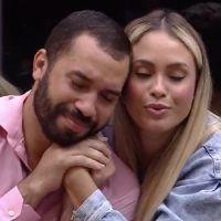 """Gilberto e Sarah são a última dupla a deixar prova no """"BBB21"""" e agora vão disputar o líder entre si"""