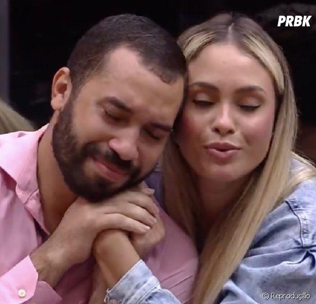 """""""BBB21"""": Gilberto e Sarah são última dupla a deixar prova do líder"""