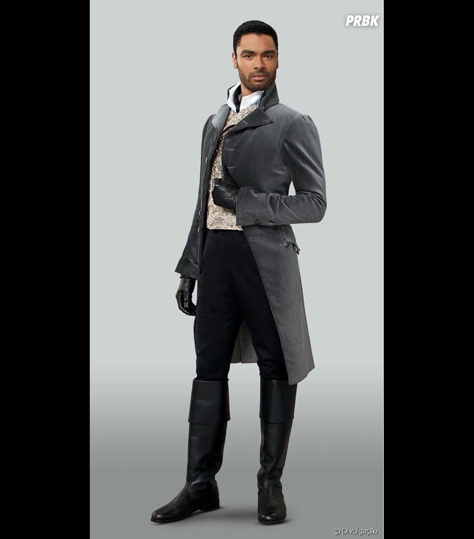 """""""Bridgerton"""":Regé-Jean Page, o Duque de Hastings, não estará na segunda temporada da série"""