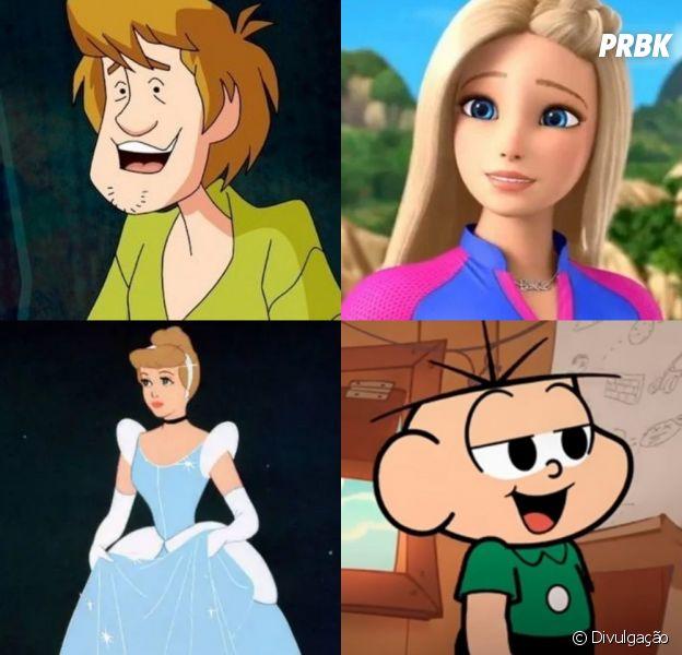 10 personagens animados e seus verdadeiros nomes