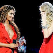 Taylor Swift e Beyoncé prestigiam show de Justin Timberlake juntinhas