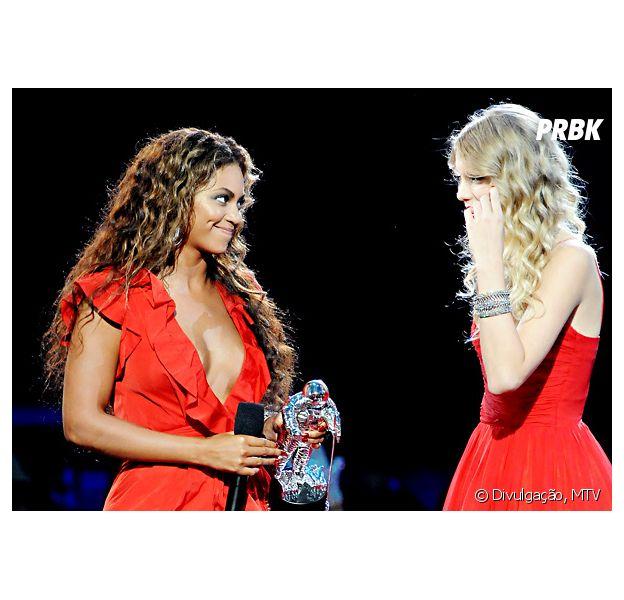 Beyoncé e Taylor Swift curtem show de Justin Timberlake juntas