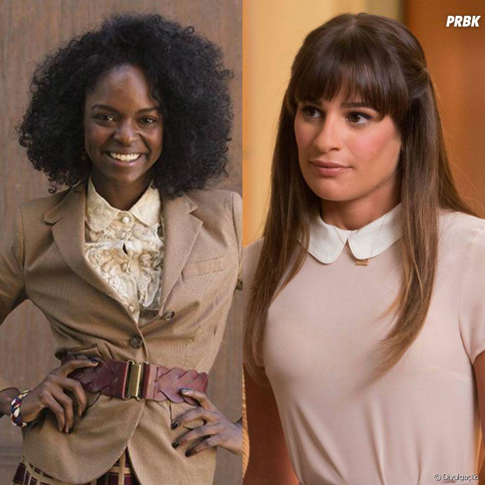 """Nos bastidores de """"Glee"""", Samantha Marie Ware acusou Lea Michele de racismo"""