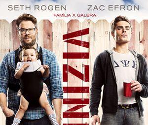 """Zac Efron já fez filmes de comédia, como """"Vizinhos"""" e a sequência """"Vizinhos 2"""""""