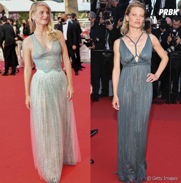 Mélanie Laurent e Mélanie Thierry no Festival de Cannes 2021