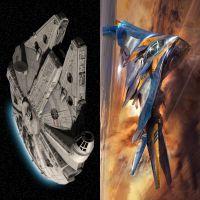 """Duelo: """"Star Wars"""" ou """"Guardiões da Galáxia""""? Qual a nave é a mais incrível da ficção?"""