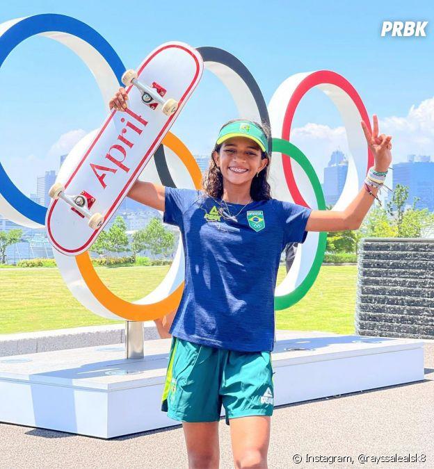 Rayssa Leal vai competir no skate na Olimpíada de Tóquio 2020, representando o Brasil