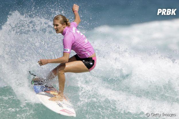 Stephanie Gilmore é uma das surfistas mais famosas do meio e está na Olimpíada Tóquio 2020
