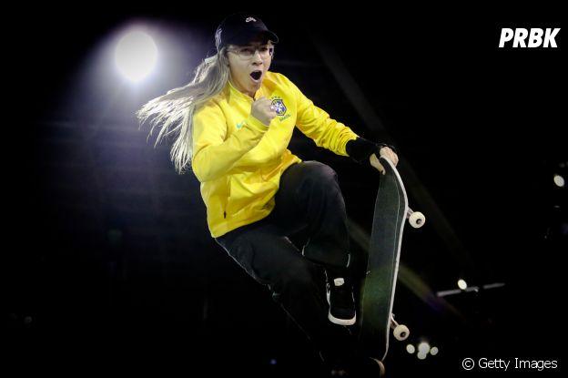 Pâmela Rosa é brasileira e destaque no skate feminino dos Jogos Olímpicos