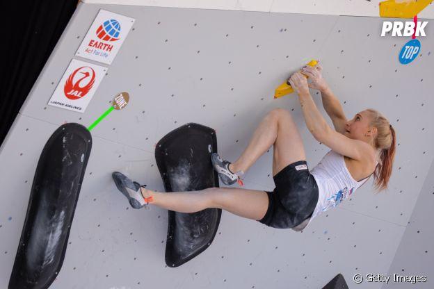 Janja Garnbret estreia a modalidade de escalada esportiva na Olimpíada de Tóquio 2020
