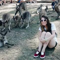 Intercâmbio: Carolina Domingues foi estudar e viver na Austrália, a terra dos cangurus!
