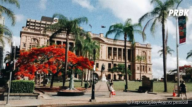 Brisbane é uma cidade cheia de parques floridos que vão agradar os estudantes que amam natureza